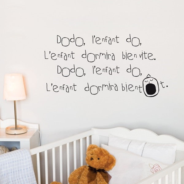 ADzif Wall Sticker Sleep Well