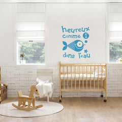Adzif Wall Sticker A Fish In The Water
