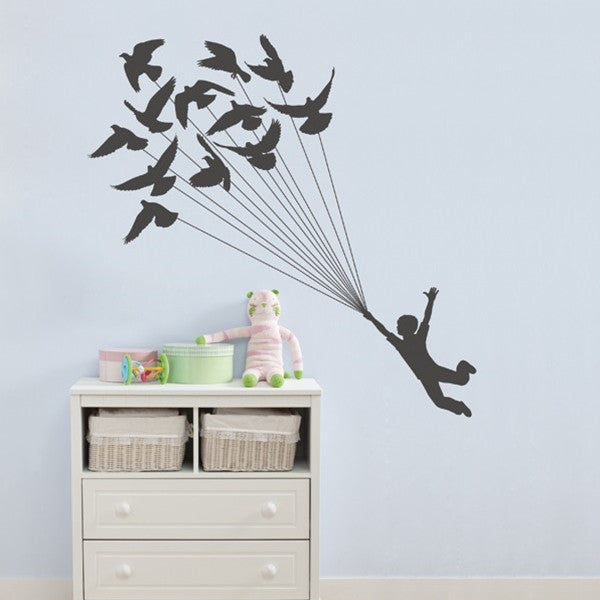 ADzif Wall Sticker Like a bird