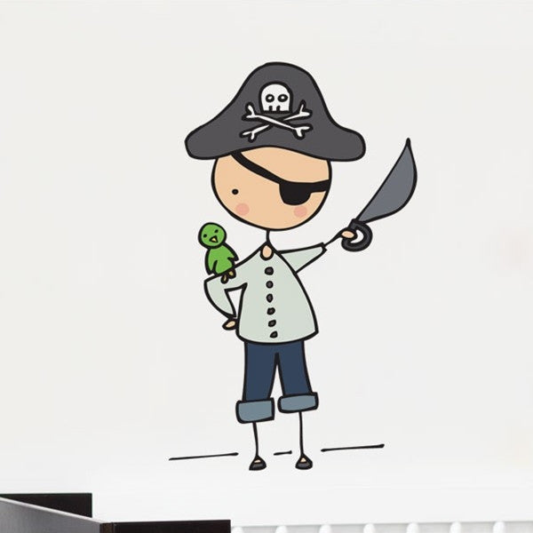 ADzif Wall Sticker Ahoy, Mateys!