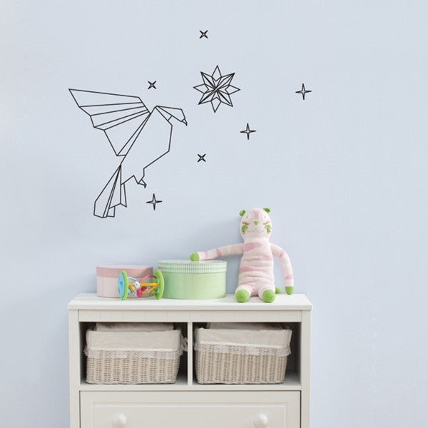 ADzif Wall Sticker Bird Origami