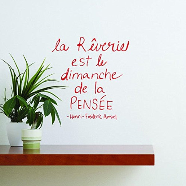 ADzif Wall Sticker Rêverie