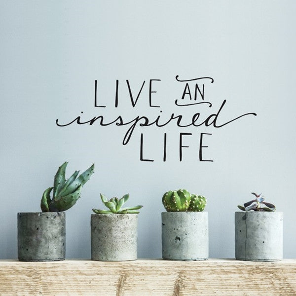 ADzif Wall Sticker Inspired Life En