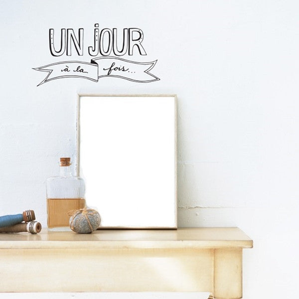 ADzif Wall Sticker Un Jour Fr