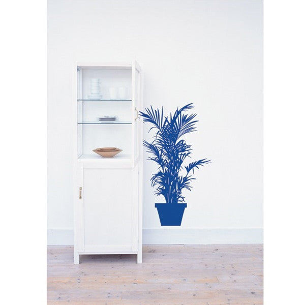 ADzif Wall Sticker Green Plant Indigo