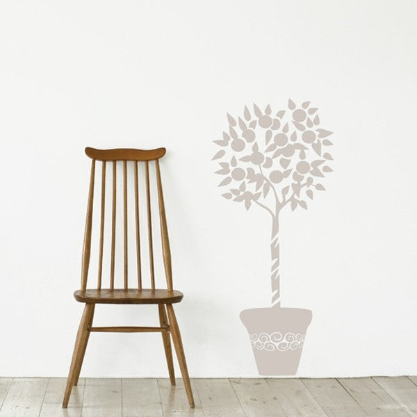 ADzif Wall Sticker Orange Tree Warm Grey