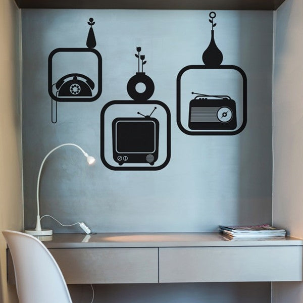 ADzif Wall Sticker Triptic