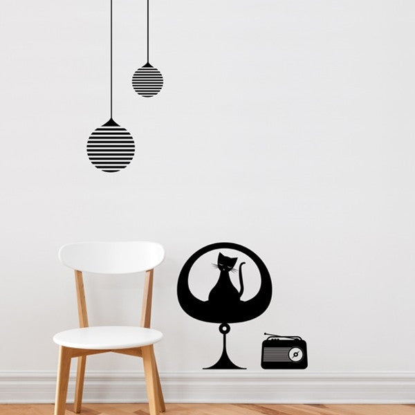 ADzif Wall Sticker Retro Zen
