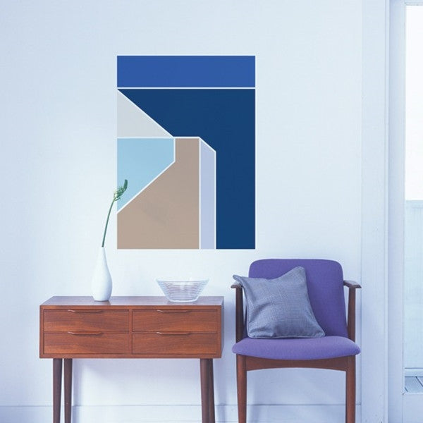 ADzif Wall Sticker Cobalt