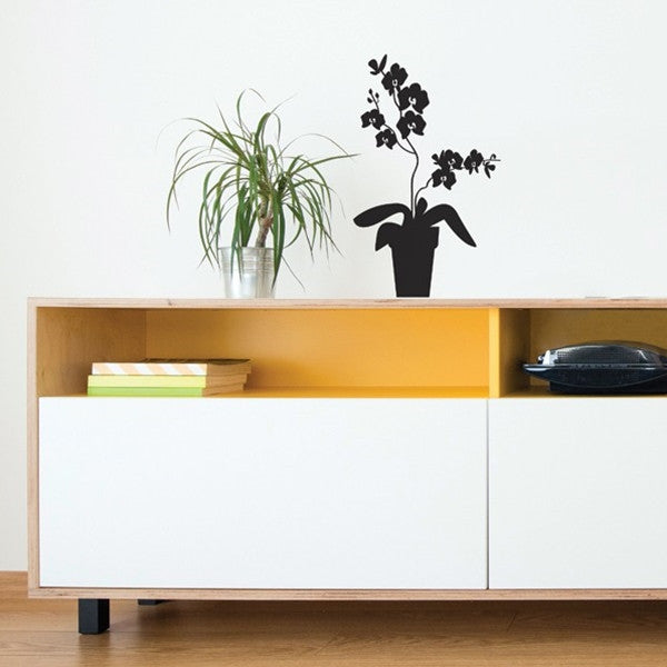 ADzif Wall Sticker Orchid Black