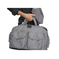7 A.M. - Voyage Diaper Bag Large Heather Grey