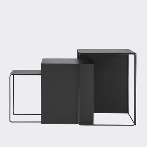 ferm LIVING Cluster Tables Set of 3 | Modern Karibou