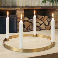 ferm LIVING Candle Holder Circle