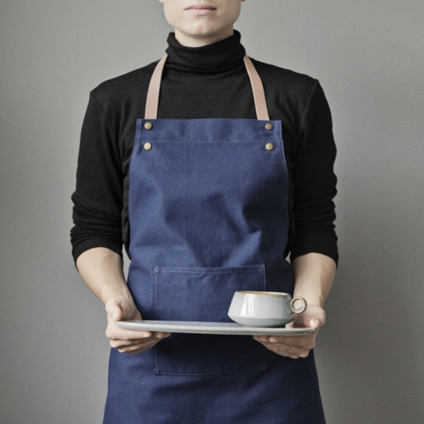 ferm LIVING Apron Blue