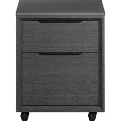 Modloft Amsterdam Filing Cabinet Grey Oak
