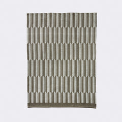 ferm LIVING - Arch Tea Towel - Brown