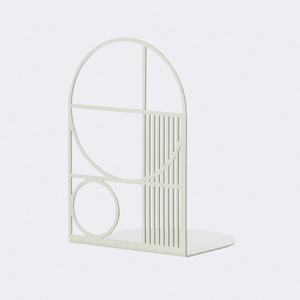 ferm LIVING Outline Bookend Grey