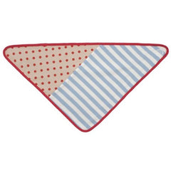 FARM BUDDIES - Blue Stripes Bandana Bib