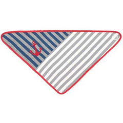 FARM BUDDIES - Grey Stripes Bandana Bib