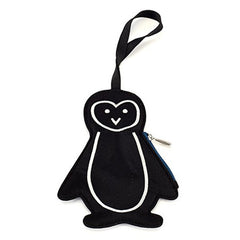 Lug - Peekaboo Bag Tag Midnight Penguin