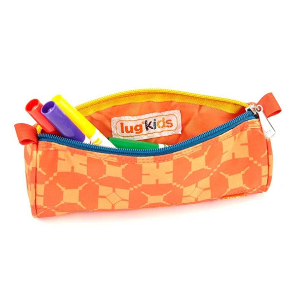Lug Scribble Pencil Case Sunset Hippo