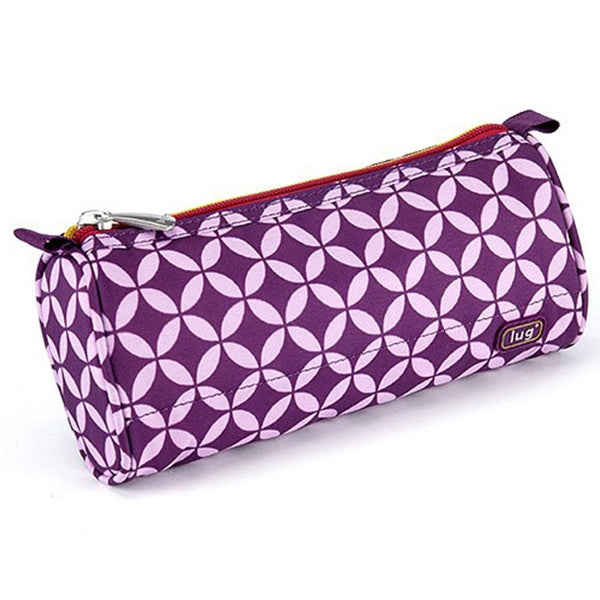 Lug - Scribble Pencil Case Plum Owl