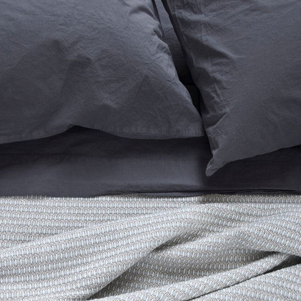 Area Bedding Anton Steel King Flat Sheet