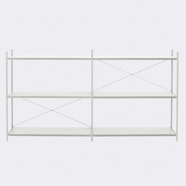ferm LIVING - Punctual Shelving System - Grey-2x3