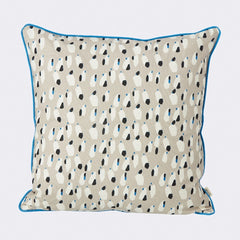 ferm LIVING - Spotted Cushion - Grey