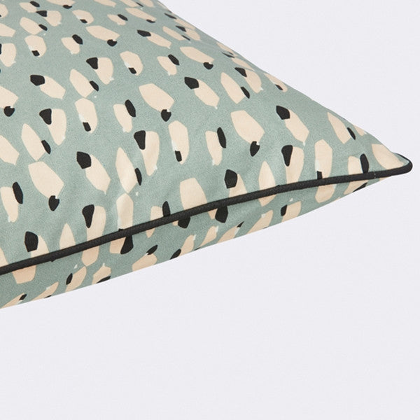 ferm LIVING Spotted Cushion Dusty Blue