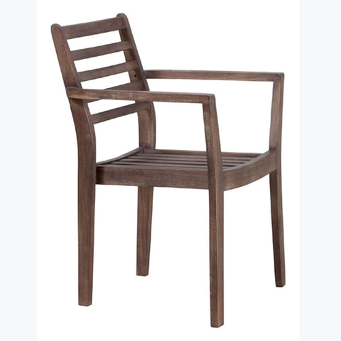 Zuo Sancerre Dining Chair Natural & Grey Set of 2