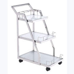Zuo - Acropolis Serving Cart Stainless Steel