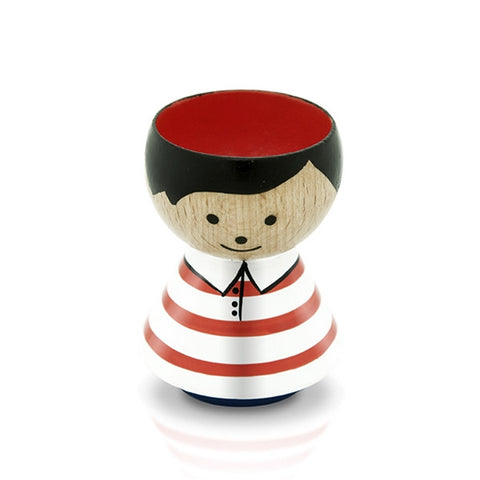 Lucie Kaas - Eggholder, Boy Red And White Stripes