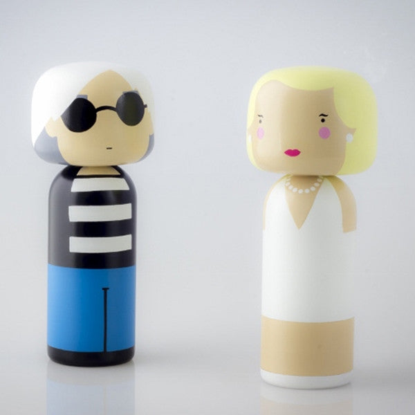 Lucie Kaas Marilyn, Hand Painted Schima Superba Wood