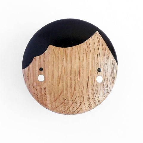 Lucie Kaas - Coco Wall Hook, Oak