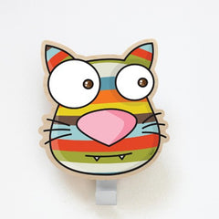 ADzif Wall Sticker Cat Coat Hanger