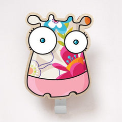 ADzif Wall Sticker Cow Coat Hanger