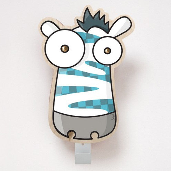 ADzif Wall Sticker Zebra Coat Hanger