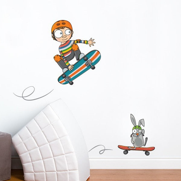 ADzif Wall Sticker Skateboarding
