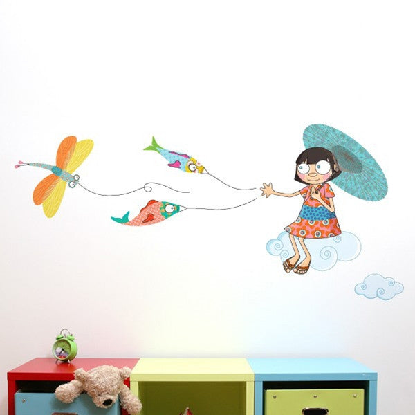 ADzif Wall Sticker Over The Clouds