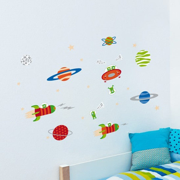 ADzif Wall Sticker Exploring Space