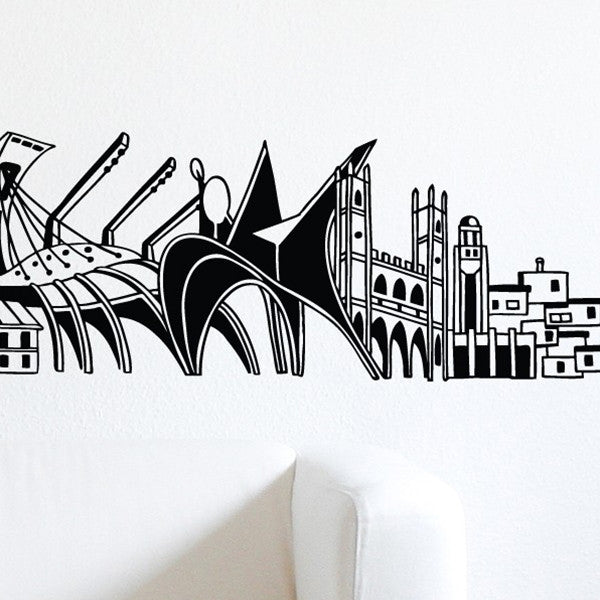 ADzif Wall Sticker Into Montreal