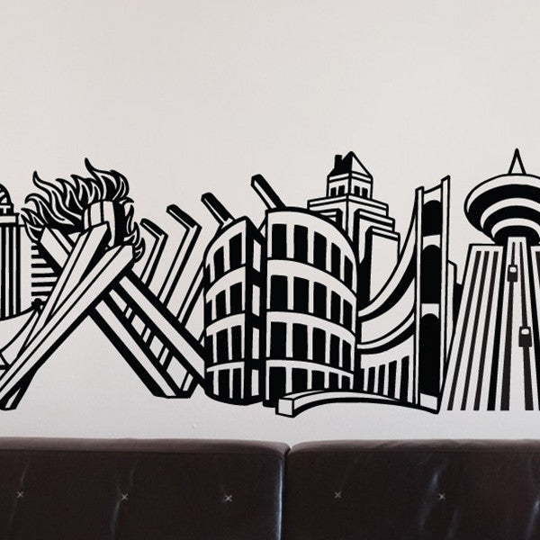 ADzif Wall Sticker Into Vancouver