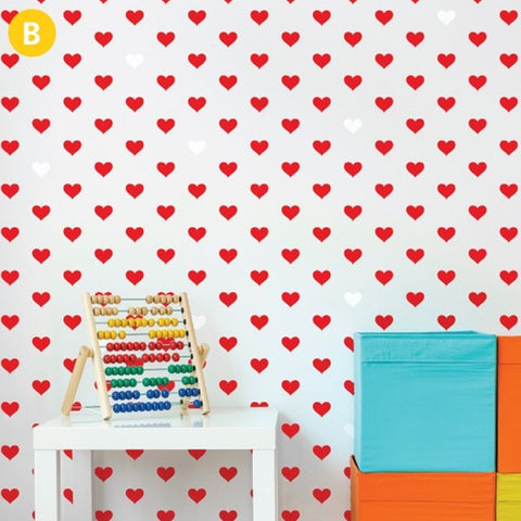 ADzif Wall Sticker Little Hearts