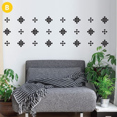 ADzif Wall Sticker Crazy Square