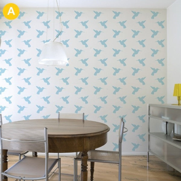 ADzif Wall Sticker Humming Bird