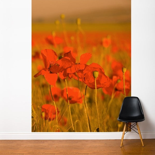 ADzif Fresk Field of poppies 6ft x 8ft