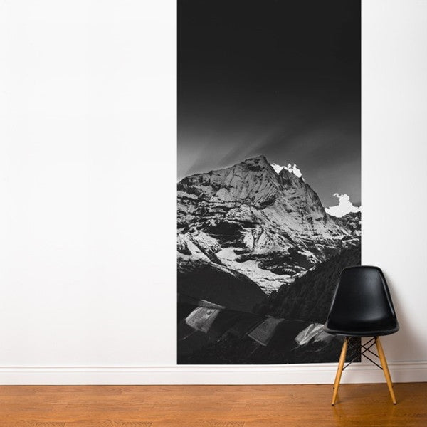 ADzif Fresk Black Sunset in the Himalayas of Nepal 4ft x 8ft