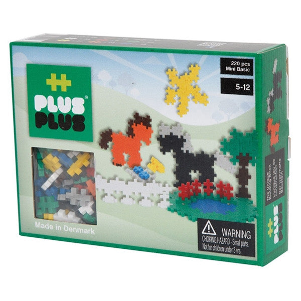 '++PlusPlus Mini Basic 220 pcs Horses