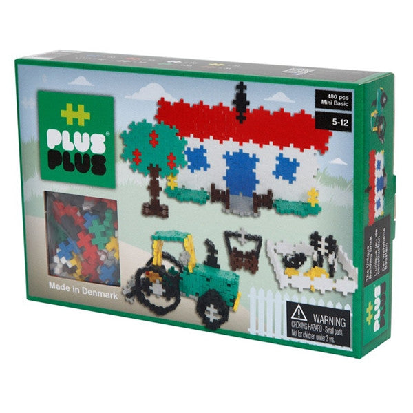 '++PlusPlus Mini Basic 480 pcs Farm